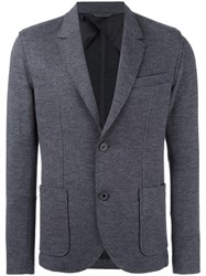 Lanvin Deconstructed Two Button Jacket Grey