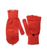 Converse Core Mitten Flip Gloves Signal Red Extreme Cold Weather Gloves Multi