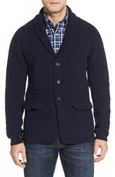 Men's Barbour 'Clearwell' Shawl Collar Lambswool Cardigan