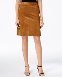 Alfani Prima Faux Suede A Line Skirt Only At Macy's Vintage Suede