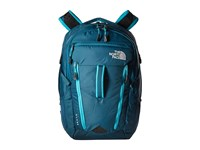 The North Face Women's Surge Blue Coral Bluebird Backpack Bags