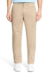 Men's Vintage 1946 'Military' Relaxed Fit Chinos Khaki