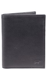 Men's Will Leather Goods 'Cyrus' Card Case Black