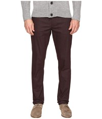 Ted Baker Frshman Dark Red Men's Casual Pants