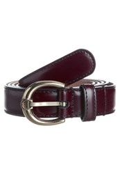 Aigner Belt Brown Dark Brown