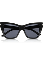 Le Specs Rapture Cat Eye Acetate Sunglasses