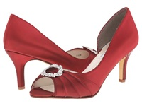 Touch Ups Olivia Claret Women's Bridal Shoes Red