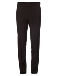 Givenchy Star And Striped Applique Trousers Black
