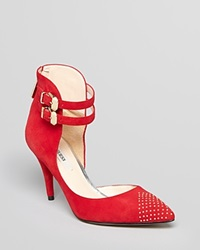 Guess Pointed Toe Pumps Dalinda High Heel Red