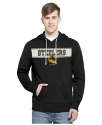 '47 Brand Men's Pittsburgh Steelers Playmaker Hoodie