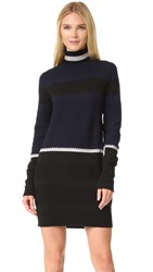 Tim Coppens Structure Turtleneck Navy Black