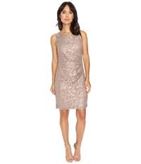 Rsvp Patricia Rouched Dress Taupe Women's Dress