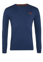 Superdry Orange Label Crew Blue