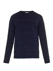 Balenciaga Cable Knit Wool Blend Sweater