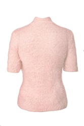 Quiz Pink Fluffy Short Jumper