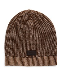 Penguin Clint Striped Beanie Hat Rifle Gree