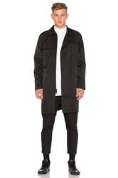 Stampd Parachute Trench Black