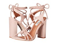 Steve Madden Samarie Blush Nubuck Women's Dress Sandals Pink