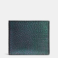 Coach 3 In 1 Wallet In Hologram Leather Oil Slick