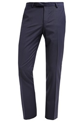 Noose And Monkey Ellroy Suit Trousers Navy Dark Blue