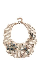 Lulu Frost Cite Necklace Gold Multi