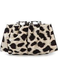 Giorgio Armani Animal Print Clutch