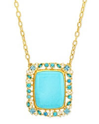 Confetti Collection Turquoise Pendant Necklace Gurhan