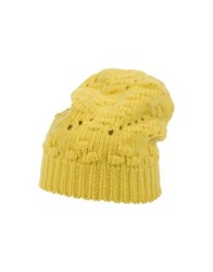 Mauro Grifoni Hats Yellow