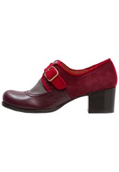 Chie Mihara Onsen Classic Heels Grape Taupe Granate Rojo Red