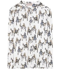 81 Hours Tiny Printed Blouse White