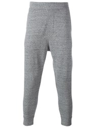 Dsquared2 Dropped Crotch Track Pants Grey
