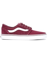 Vans Lace Up Sneakers Pink And Purple