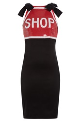 Moschino Dress With Sequins Multicolor