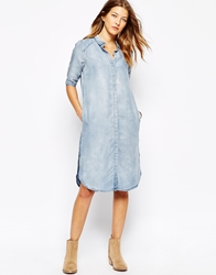 Vero Moda Shirt Dress Blue