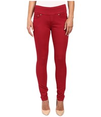 Jag Jeans Nora Pull On Skinny Freedom Colored Knit Denim In Rubaiyat Rubaiyat Women's