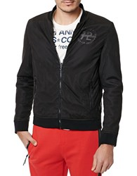 Buffalo David Bitton James Front Zip Sweatshirt Black