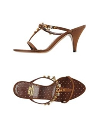 Moschino Cheap And Chic Moschino Cheapandchic Sandals Cocoa