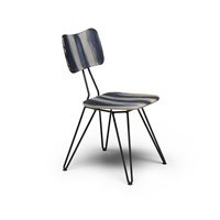 Diesel Living With Moroso Overdyed Chair Weathered Grey