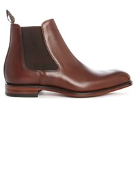 Loake Brown Petworth Leather Chelsea Boots