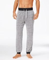 Kenneth Cole Reaction Men's Marled Knit Lounge Pants Black
