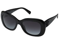 Versace Ve4317 Black Light Grey Gradient Dark Blue Fashion Sunglasses