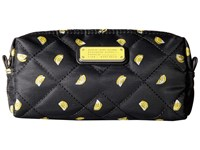 Marc By Marc Jacobs Crosby Quilt Nylon Fruit Cosmetics Narrow Cosmetic Lemon Print Cosmetic Case Multi