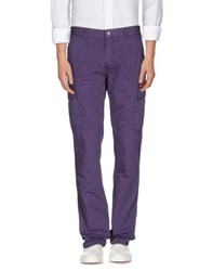 North Sails Trousers Casual Trousers Men Purple