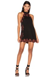 Cleobella Raquel Short Dress Black
