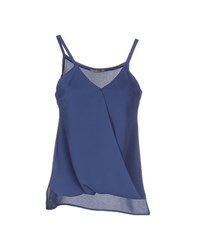 Twenty Easy By Kaos Topwear Tops Women Blue