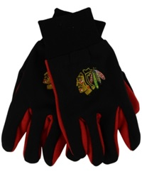Forever Collectibles Chicago Blackhawks Palm Gloves