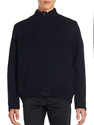 Boston Traders Swacket Woven Sweater Navy