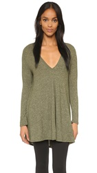 Riller And Fount Kevin V Neck Tunic Mossy Oak