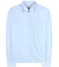 Robert Friedman Clelias Cotton Shirt Blue