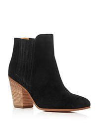 Kenneth Cole Maci Almond Toe High Heel Booties Black